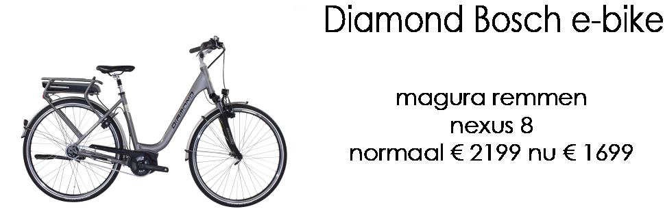 Diamond Bosch e-bike